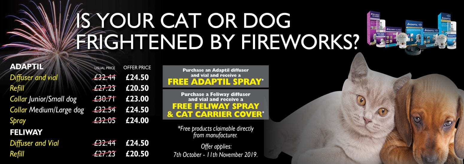 Adaptil and Feliway discount prices